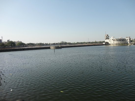 a distant view of lakhota palace