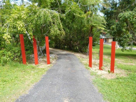 Burringbar, Australie : Entrance to property