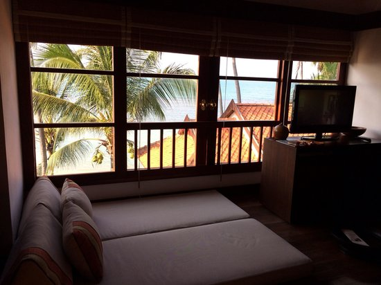 Belmond Napasai: View from bedroom of villa