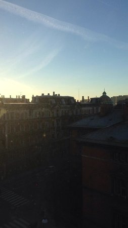 Hotel Danmark - TEMPORARILY CLOSED : View from the top floor