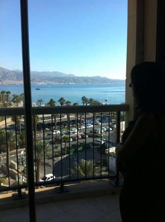 Queen of Sheba Eilat: great view - but not all rooms have balconies