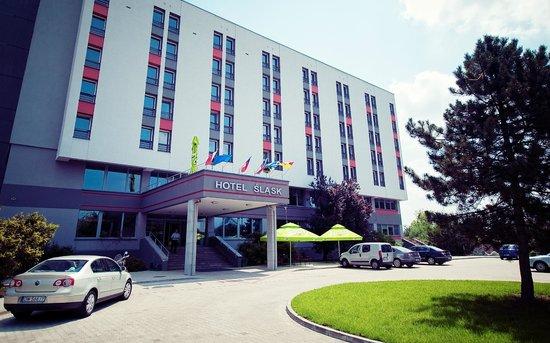 Hotel Slask: Hotel z zewnątrz
