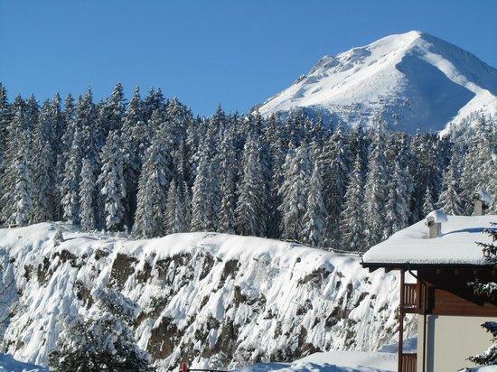 Albergo Dolomiti: panorama (alle spalle dell'hotel)