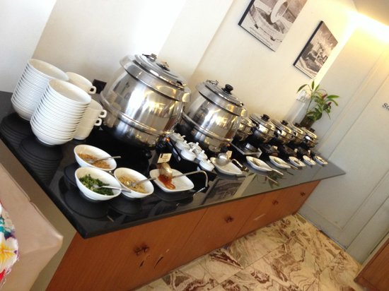 Sawaddi Patong Resort & Spa: Breakfast Buffet (Just one of the rows of food)