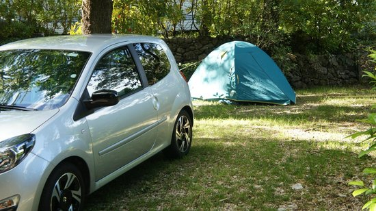 Camping Les Cent Chenes : EMPLACEMENT