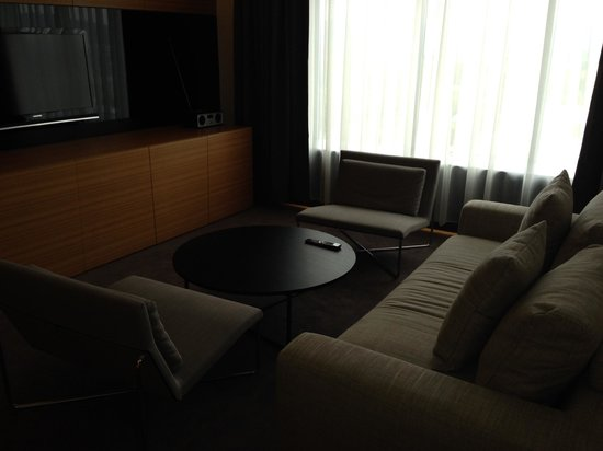 Radisson Blu Plaza Hotel Ljubljana: Sitting area