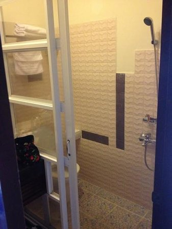 cold shower over toilet. - Picture of Centara Sandy Beach Resort ...