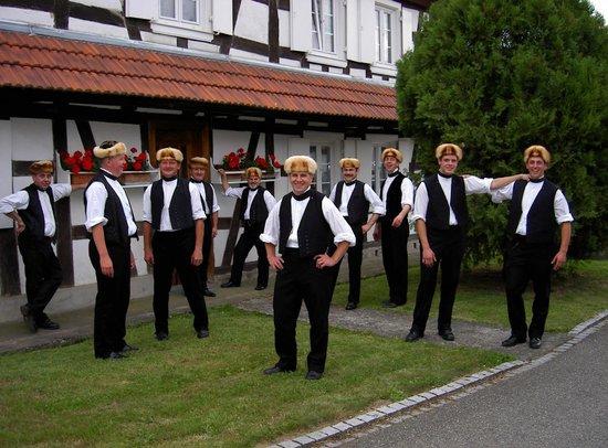 Maison des Gîtes Ungerer : Folklore Hunspach