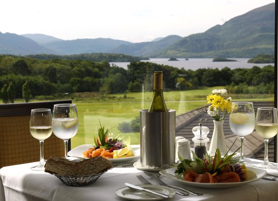 Castlerosse Hotel & Holiday Homes: View from our Grosvenor Restaurant