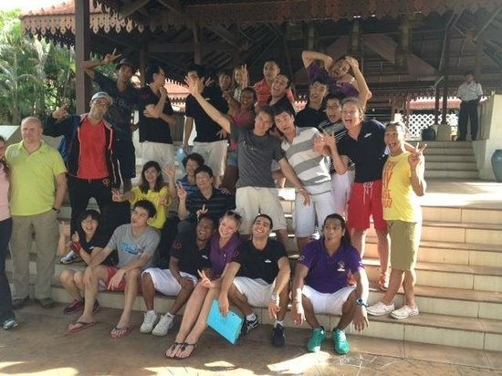 Club Med Cherating Beach: When we left