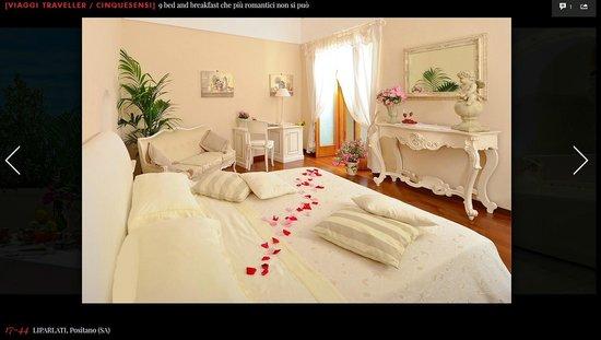 Villa Mary Suites: Diana room on Vanity Fair