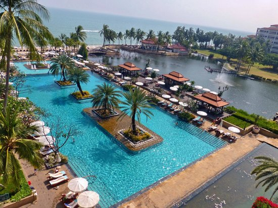 Dusit Thani Hua Hin: All rooms I have stayed in have great views