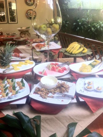 Aranjuez Hotel: Buffet breakfast