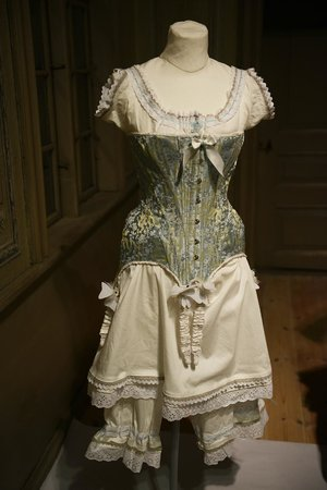 Rohsska Museum of Design and Applied Art : Female underwear 1600-1900