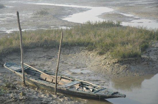 Laguna di Venezia: Barchino abbandonato