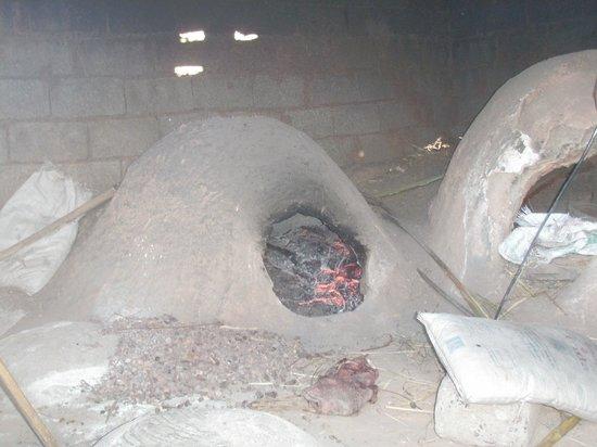 Auberge La Terrasse des Delices: le four à pain du village
