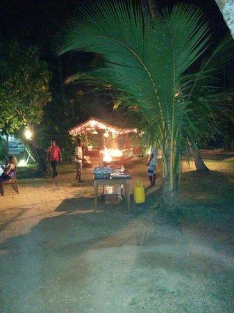 Palm Villa : Il bbq