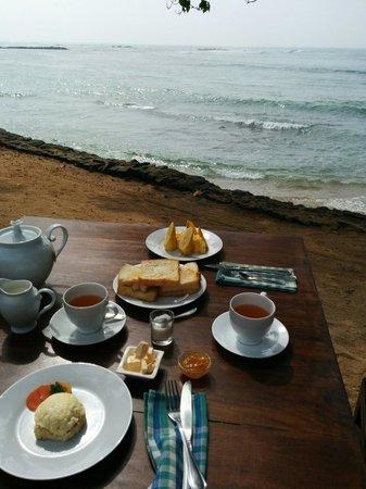 Palm Villa : La colazione