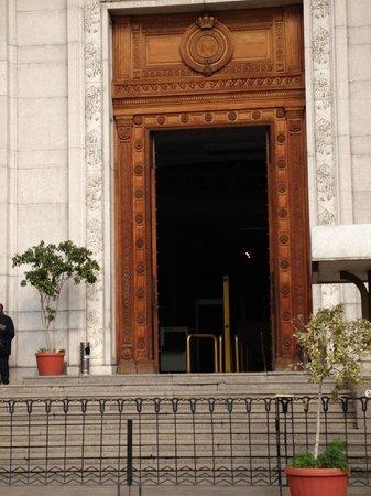 Musée égyptien du Caire : Entrance