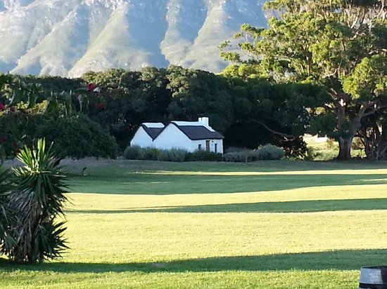 Springfontein Eats: View from the veranda