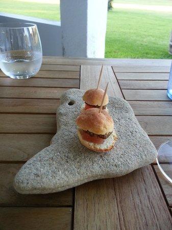 Springfontein Eats: Savory mini-burger appetizers
