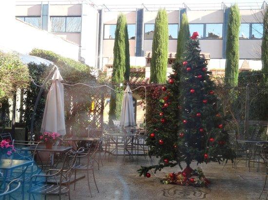 Hotel Relais dell'Orologio: Hofgarten
