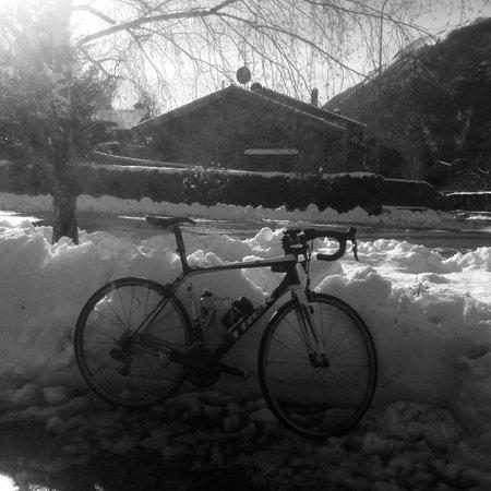 Residence La Limonera: neve al Ghisallo