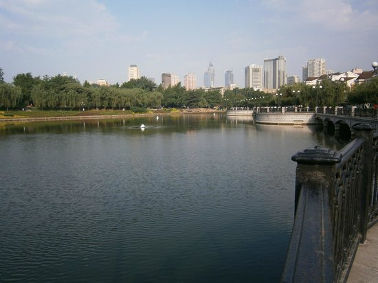 Dalian Children Park : 大連兒童公園民澤湖