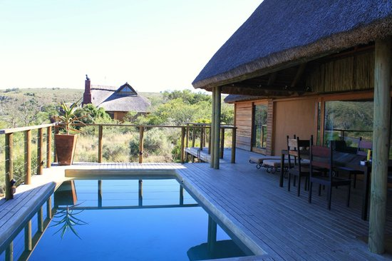 Aloe Ridge Self Catering: Pool Area