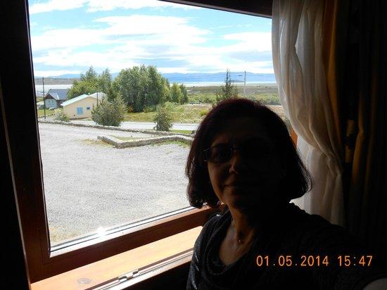 Hotel Mirador del Lago: Vista do quarto