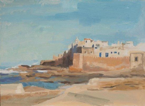 Les Jardins de la Medina: my painting of Essaouira!