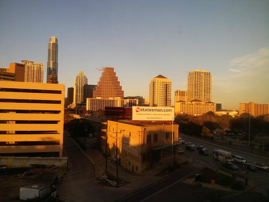 Embassy Suites by Hilton Austin - Downtown/Town Lake: My view of Austin from the 6th floor on New Years Eve.