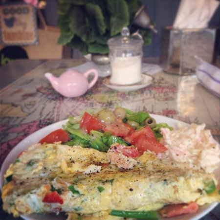Geranium Coffee: Omlette of the day