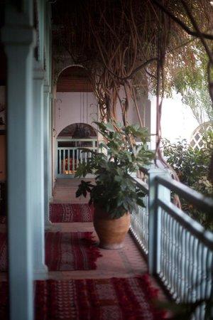 Les Jardins de la Medina: verandah