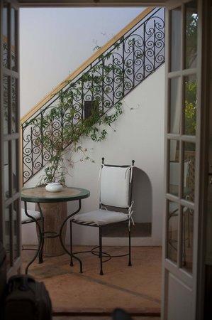 Les Jardins de la Medina: private sun terrace