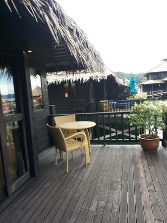 Gayana Eco Resort: Room Balcony
