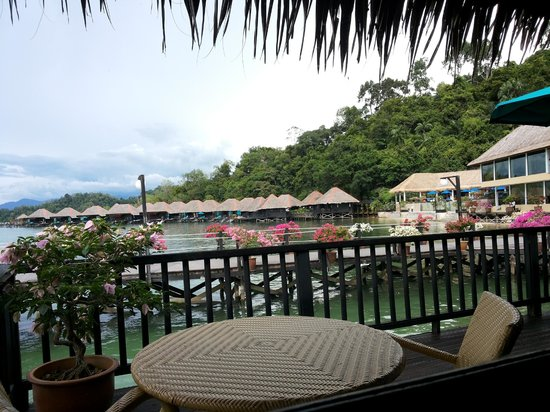 Gayana Eco Resort : View from Room