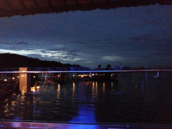 Gayana Eco Resort : Bar View