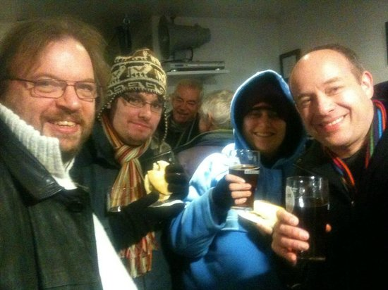 Rebellion Beer Co. Ltd.: A cold winters night at Rebellion with our beloved Roasted Nuts!