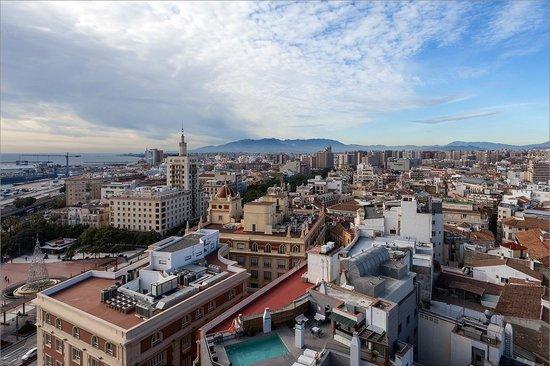 AC Hotel Malaga Palacio : Вид с крыши отеля