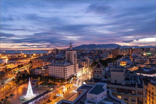 AC Hotel Malaga Palacio: Вид с крыши отеля