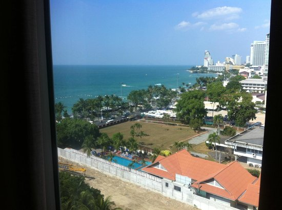 Hard Rock Hotel Pattaya : View from the room