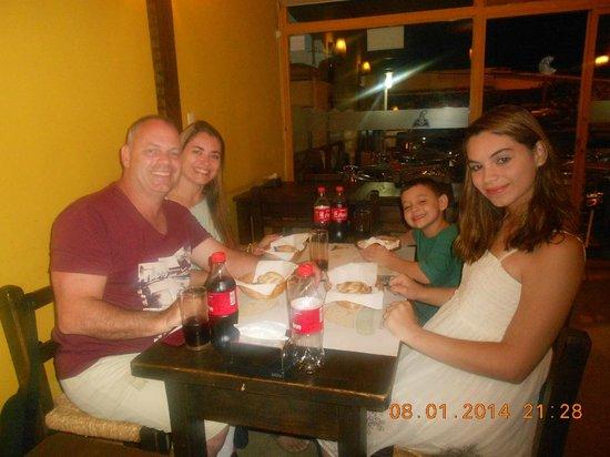 Las Charruitas Empanadas: Ambiente familiar