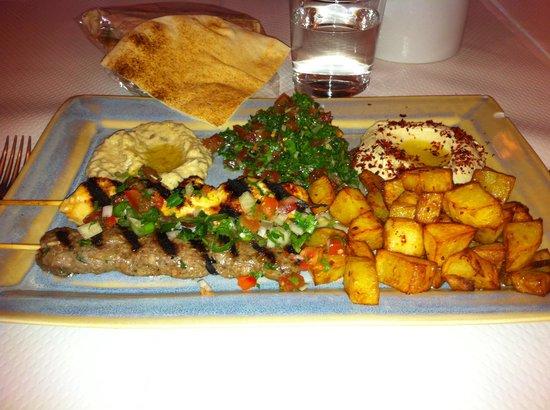Chez Madeleine: Assiette Zénith