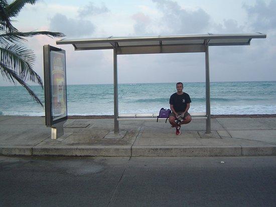 Cocoplum Beach Hotel: La parada de autobuses más hermosa del mundo