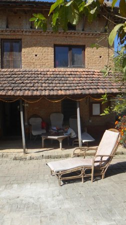 Gamcha Organic Farm & Guest House: entrance rooms