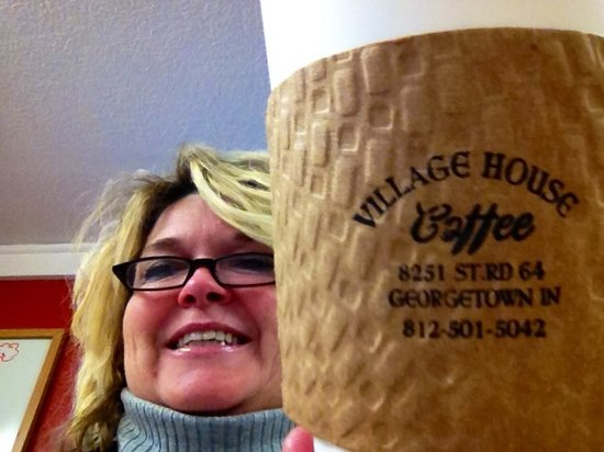 Come see us !! Here at Village House Coffee Georgetown, Indiana