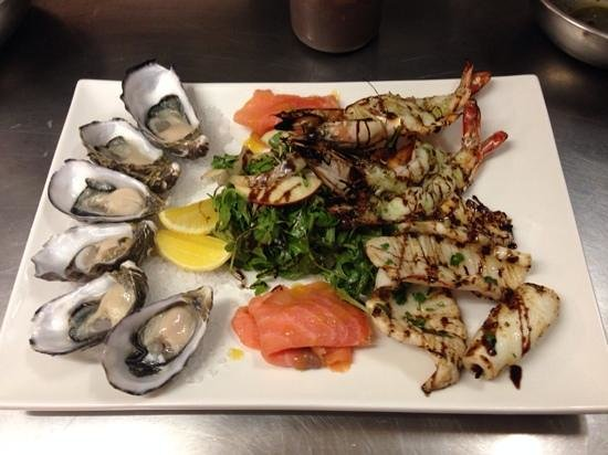 O'Hotel: seafood plater
