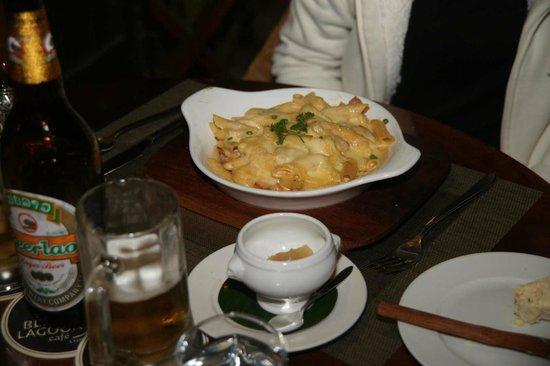 Blue Lagoon Restaurant: Älplermagronen