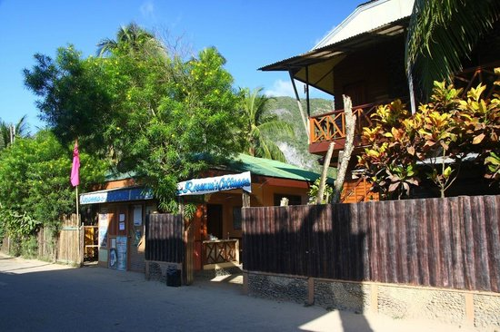 Rosanna's Pension : It's very easy to spot the resort from the main road